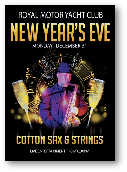 NEW YEARS EVE -Entertainment - COTTON SAX & STRINGS