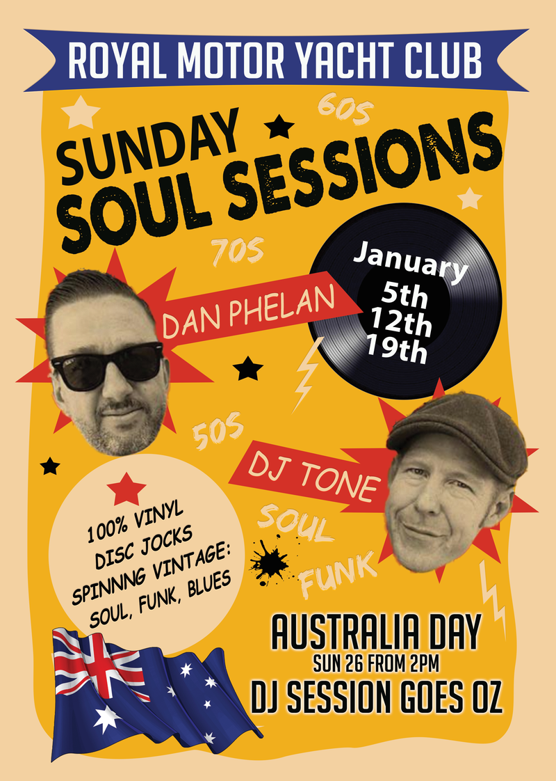 SUNDAY- SUNDAY SOUL SESSION