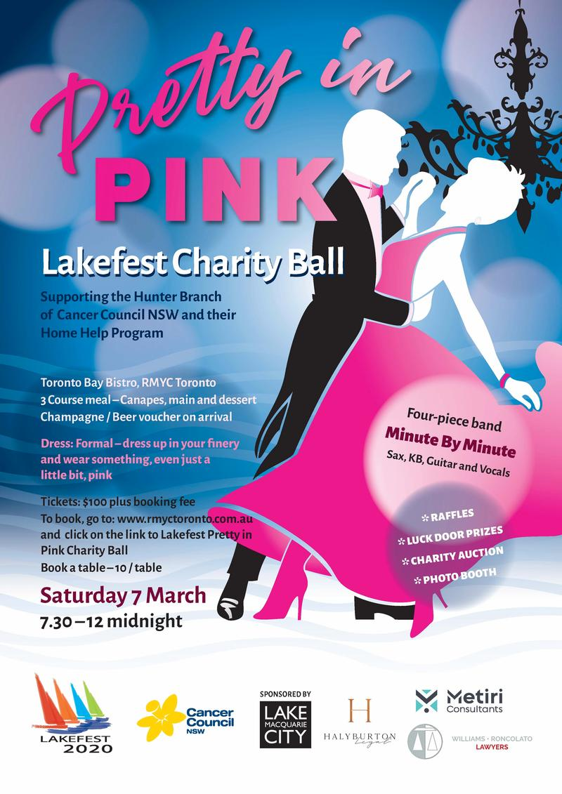 Lakefest Pretty In Pink Charity Ball