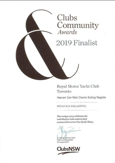 2019 Clubs NSW Community Awards
